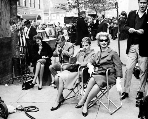 Breakfast At Tiffany's wallpaper entitled Breakfast at Tiffany's - Behind The Scenes