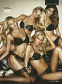 Candice Swanepoel, Erin Heatherton, Lindsay Ellingson, Lily Aldridge (GQ Magazine UK February 2011)