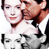 Cary Grant photo with a portrait titled Cary Grant and Deborah Kerr