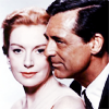 Cary Grant photo with a portrait called Cary Grant and Deborah Kerr