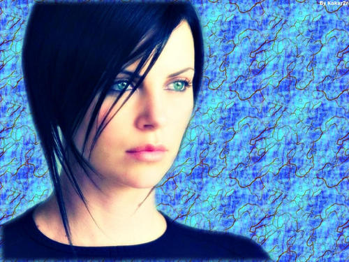 Charlize Theron [ AEON FLUX ] - wallpaper