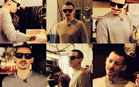 Chester Bennington hình nền with sunglasses entitled Chazy