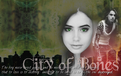 City of Bones - Wallpaper
