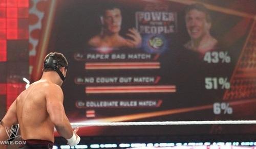 Cody Rhodes vs Daniel Bryan