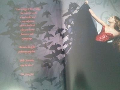 Miley Cyrus Tour 2011 on Tour  Gypsy Heart Tour    2011   Tour Book Scans   Miley Cyrus Photo