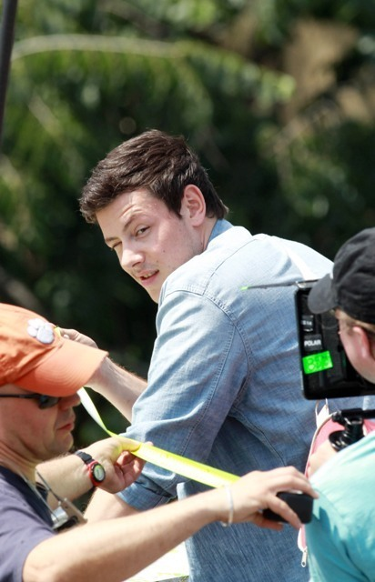 Cory Monteith onset of Monte Carlo<3