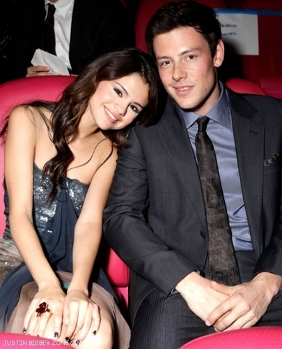 Cory Monteith fondo de pantalla with a business suit, a suit, and a well dressed person entitled Cory & Selena:)