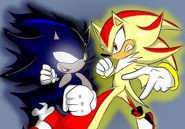 Dark Sonic VS Super Shadow