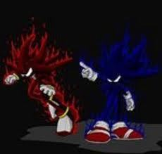 Dark Sonic and Dark Shadow