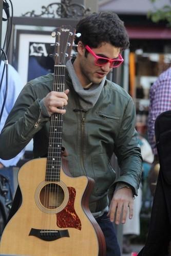Darren and his gitar