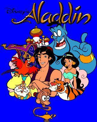 The 90s wallpaper with anime titled Disney's Aladdin