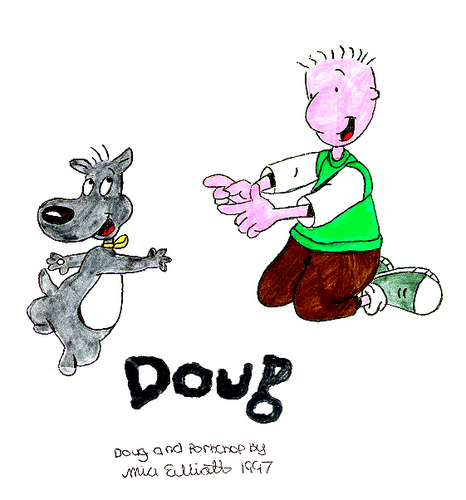 Doug and Porkchop - doug Fan Art