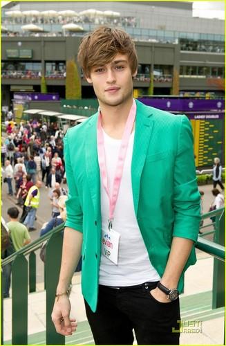 Douglas at Wimbledon 2011.