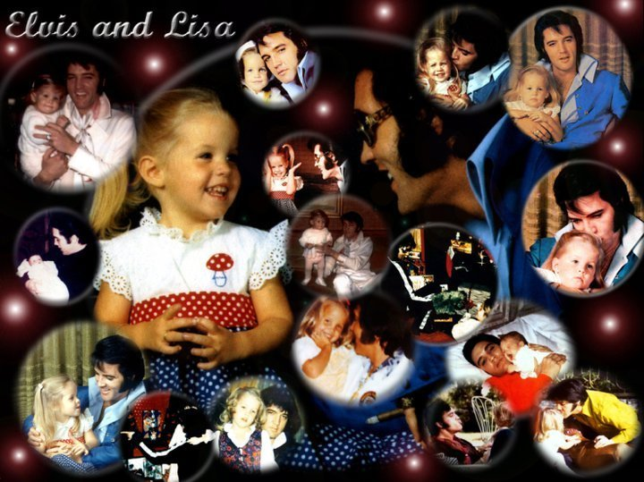Lisa Marie Presley Presley Elvis And Lisa