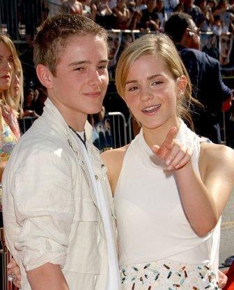 Emma watson and brother alex watson