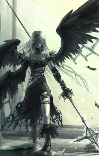 emo dark Angel