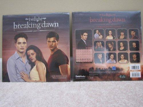 Esme on the Breaking Dawn 2012 calendar!