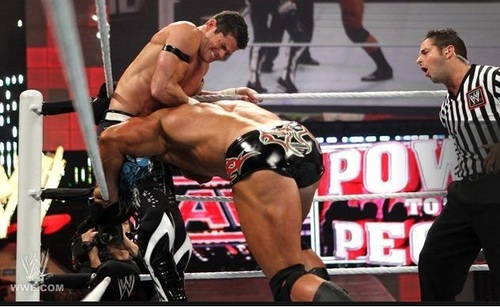 Evan Bourne vs Mason Ryan