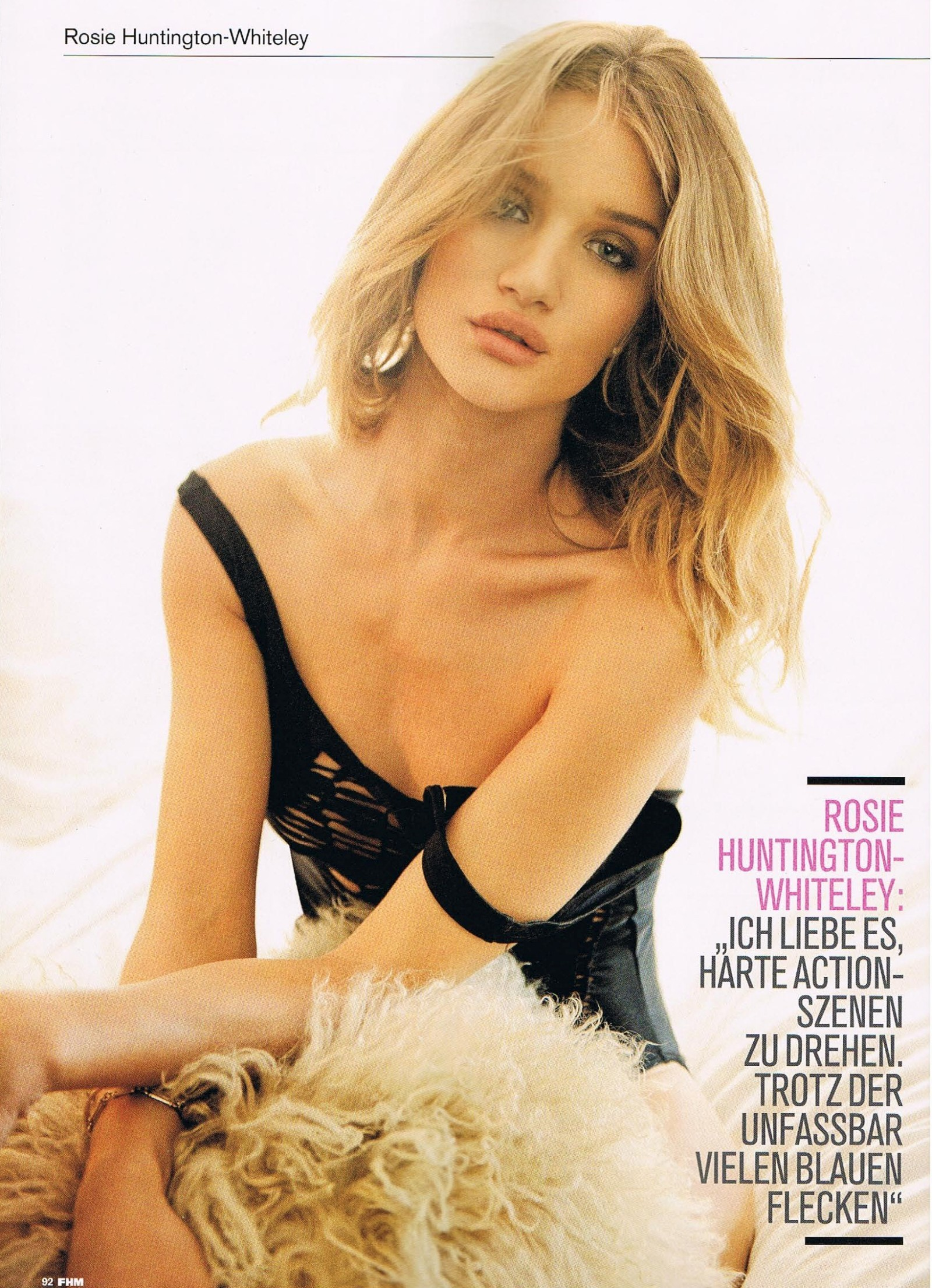 6855b9bfb1 Rosie Huntington-whiteley images FHM Germany Magazine (July 2011) HD  wallpaper and background photos