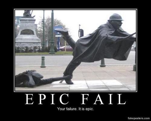 Failures!