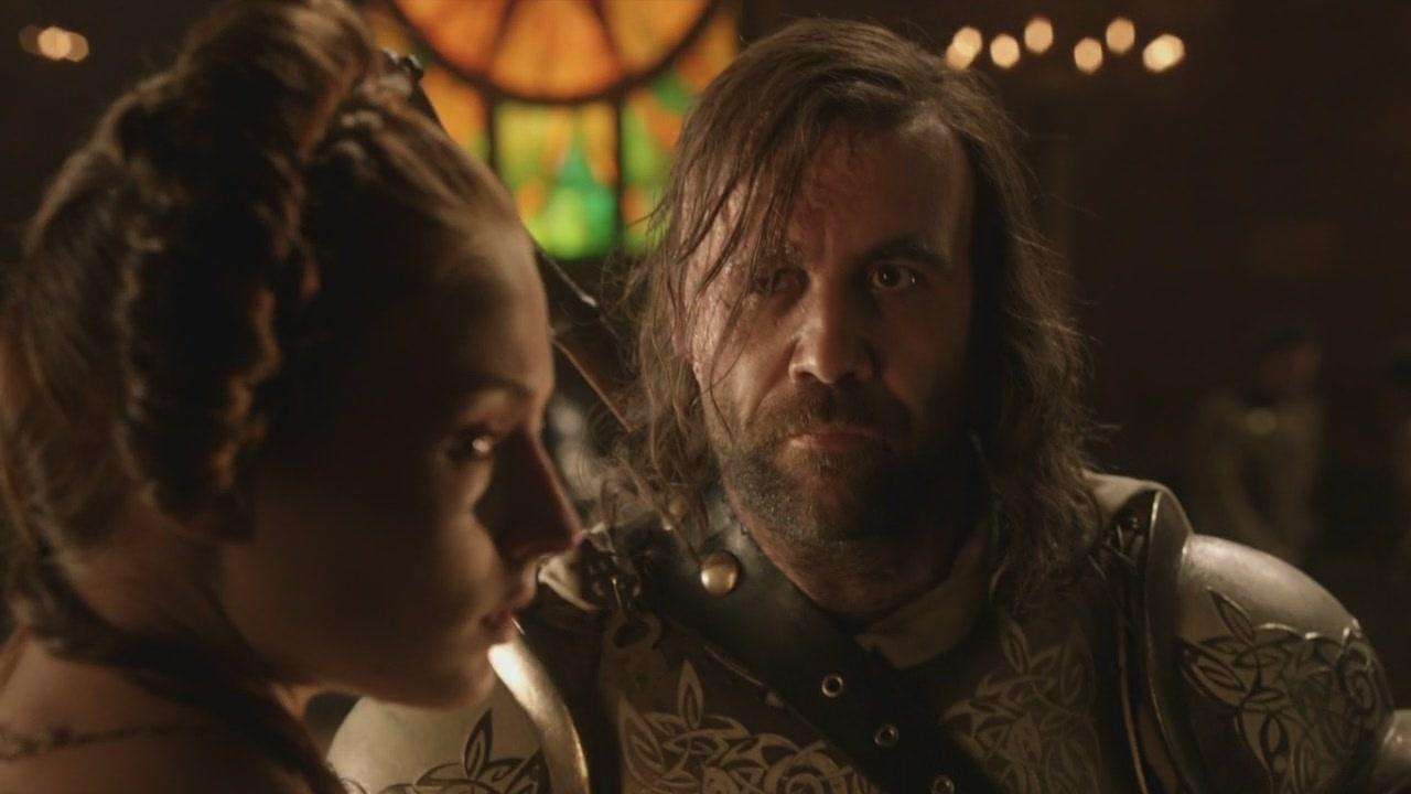 Fire and Blood - Sandor and Sansa Image (23105746) - Fanpop