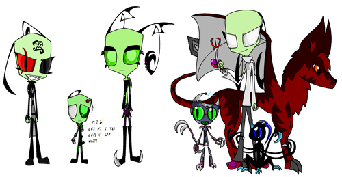 Invader Zim FanCharacters wallpaper entitled Forgoten OC's!