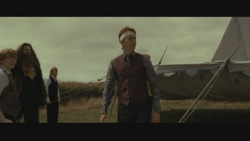 Fred &amp; George in Deathly Hallows pt 1 - fred-and-george-weasley Screencap