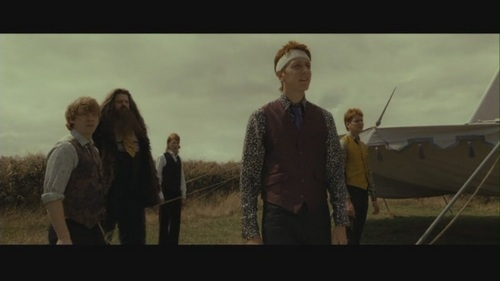 Fred & George in Deathly Hallows pt 1 - fred-and-george-weasley Screencap