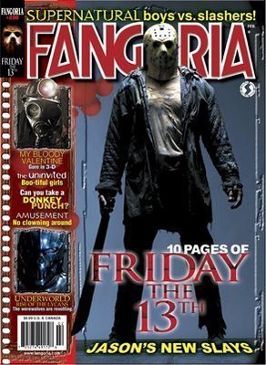 Friday the 13th wallpaper with anime titled Friday the 13th Fangoria