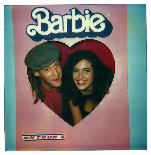 From Lisa's twitter (Barbie party, circa 1985)