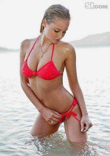 Сексуальные женщины Обои with a bikini titled Genevieve Morton