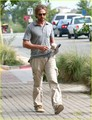 Gerard Butler: Starbucks Stop! - gerard-butler photo