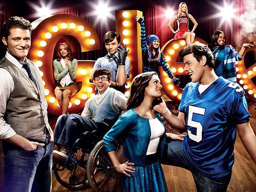 Glee promotional poster