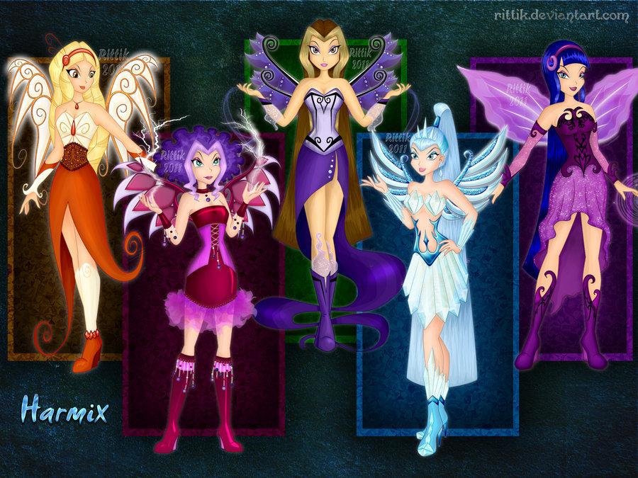 Конкурс WINX 3  тур Лучший художник и игра макияж девочки!