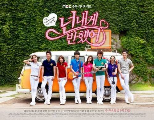 Heartstrings/You've Fallen for Me promotional posters