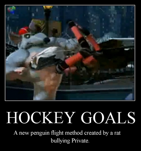 Hockey Goals Modivational Poster