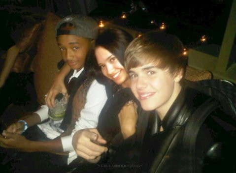 Jaden Smith , Justin Biber and jimmy, hunitumia Villegas <3