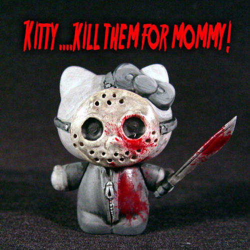 Friday the 13th wallpaper titled Jason Hello Kitty