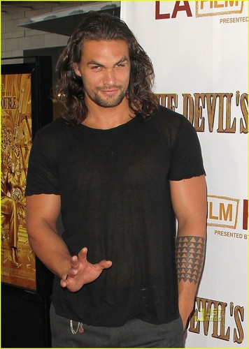 Jason Momoa: 'Devil's Double' Screening!