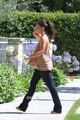 Jennifer 사랑 Hewitt Goes to Visit her Mother in Studio City, Jun 25