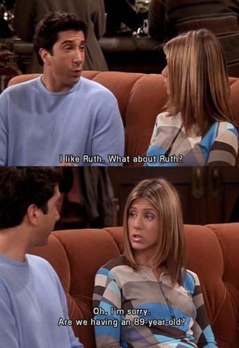 Jennifer in Friends  