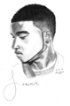 Jeremih Drawing - jeremih fan art