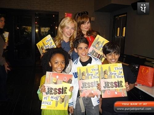 Jessie Behind the Scenes