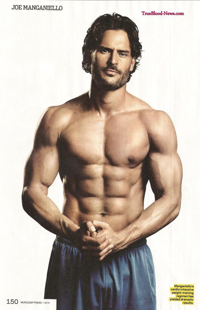 Joe Manganiello Joe Manganiello Covers July Issue of Muscle & Fitness