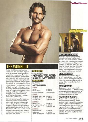 Joe Manganiello 壁紙 called Joe Manganiello Covers July Issue of Muscle & Fitness