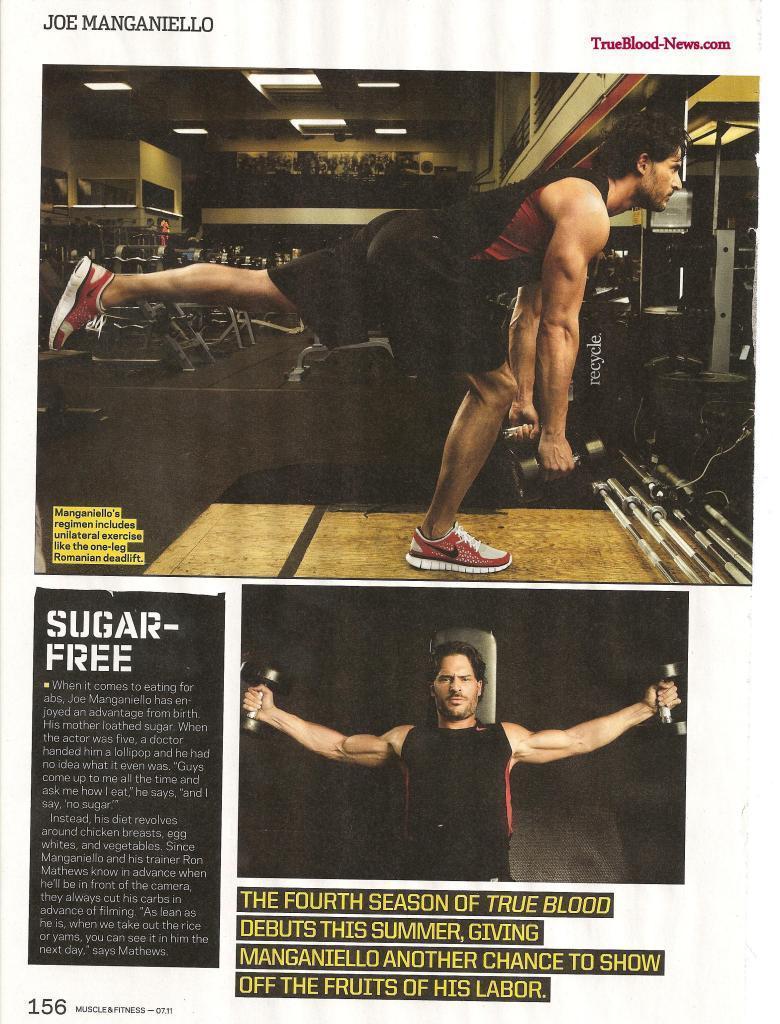 Joe Manganiello Covers July Issue of Muscle & Fitness