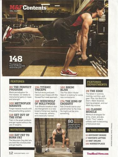 Joe Manganiello wallpaper called Joe Manganiello Covers July Issue of Muscle & Fitness