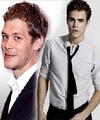 Joseph Morgan & Paul Wesley both looking great!