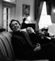 Josh and Leo in the Oval office