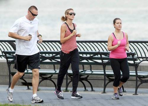 June 21: Running 由 the Hudson River